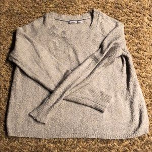 Cropped sweater